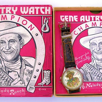 1948 Gene Autry Wilane Watch & Box - Wristwatches