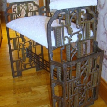 Art Deco Window Bench ~ One of a kind? - Furniture