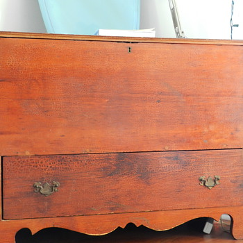 Antique Cabinet or chest- Id Help dated 1810  - Furniture