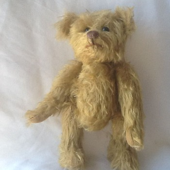 teddy bear antique ?  - Dolls