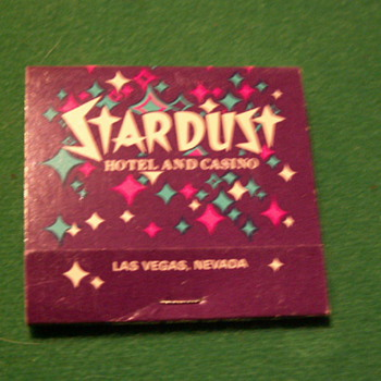 Antique/Vintage Stardust Casino Matchbook ~ Las Vegas, Nevada - Tobacciana