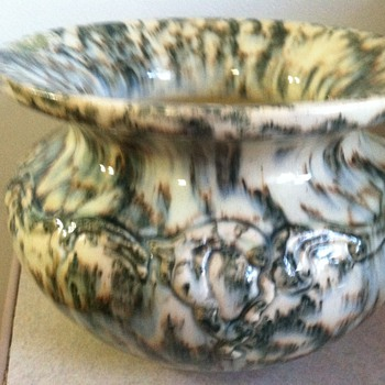 Ladies Spittoon - Art Pottery