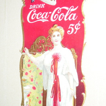 1904 Coca-Cola Bookmark - Coca-Cola