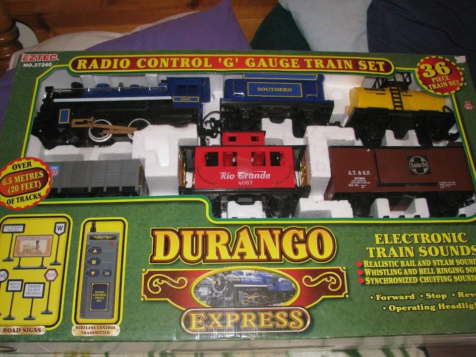 G scale train set canada sale