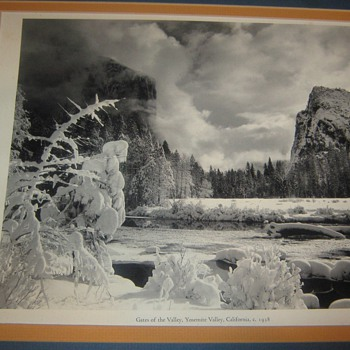 ANSEL ADAMS PRINT OF YOSEMITE PARK