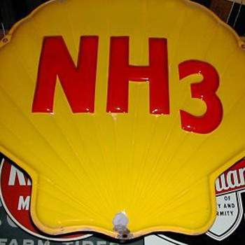 SHELL CHEMICAL NH3 SIGN