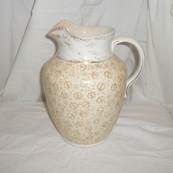 Parisian Granite Pitcher