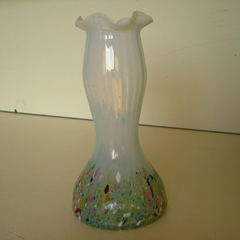 Kralik Harlequin Vase (2) - Art Glass