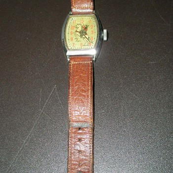 Roy Rogers and Pearl Harbor Survivors Wristwatch