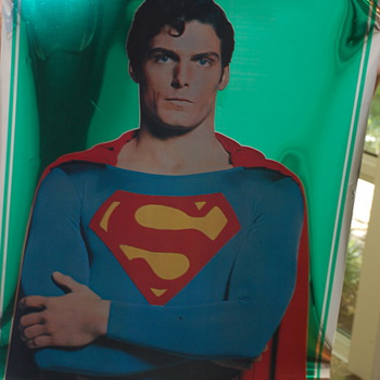 original Superman Mylar movie posters