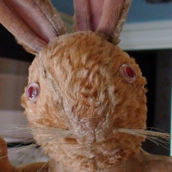 Stuffed Rabbit Toy Vintage