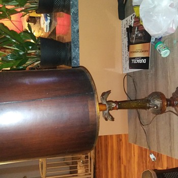 Vintage Brass Bronze Table Lamp Base - Lamps