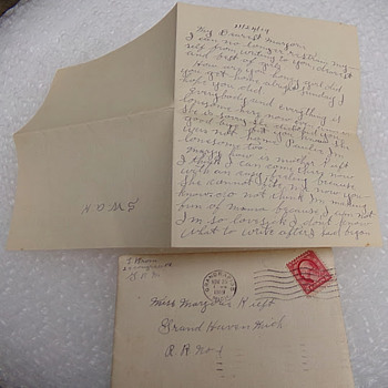 Love Letter 2 of 5 from 1919