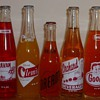 Orange Soda Bottles collection Jim Linderman