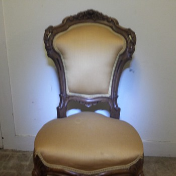 Victorian Rosewood Side Chair - Furniture