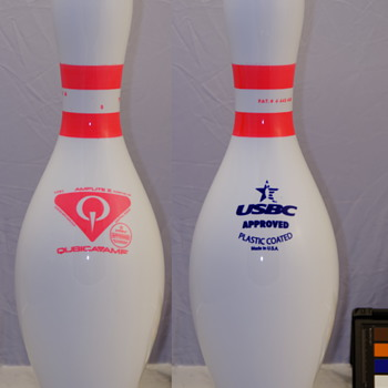 QubicaAMF Pink Glow Band Bowling Pin - Games