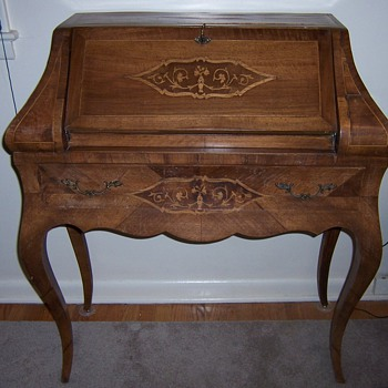 Drop front writing desk  - Furniture