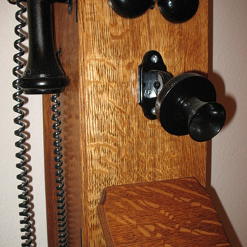 My Wooden Wall Phone - Telephones
