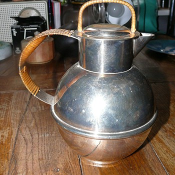 silver plated coffe pot