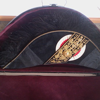 Bicorne Hat with Gold Bullions -- date and country unkown