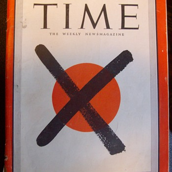 Time magizine Aug. 20th 1945