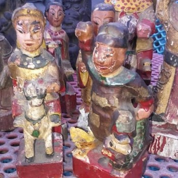 Chinese figurines  - Asian
