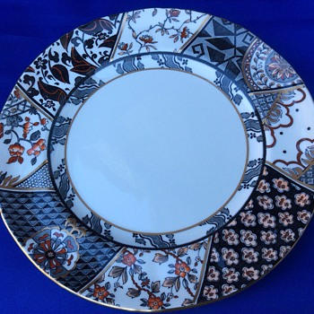 Vintage display plate - China and Dinnerware