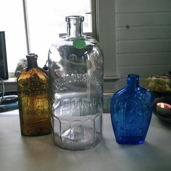 Coffin Shape Orental Herb Bitters - Bottles