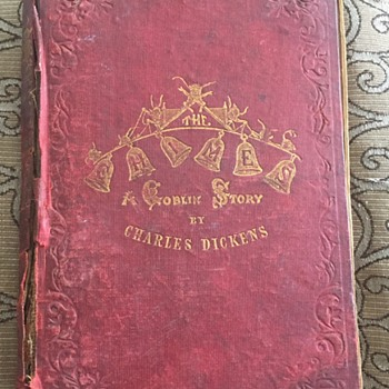 "Charles Dickens "" The Chimes"" 1845 1st Edition Book"