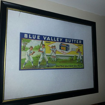 Blue Valley Butter ad - Signs