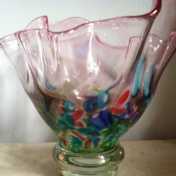 Handkerchief Vase - Art Glass