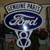 Vintage Ford V8 Sign