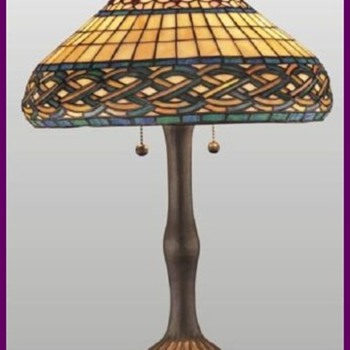 1911 Chicago Mosaic Lamp Shade