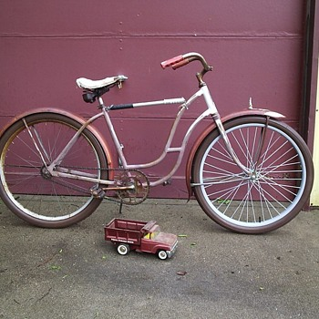 "Grandma's Old ""Zenith"" Pre-War Skip Tooth Bicycle - Sporting Goods"