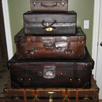 Stack Of Trunks - Furniture