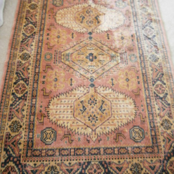 This Antique Hand knoted Rug - Rugs and Textiles