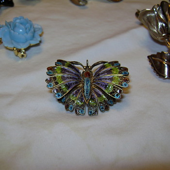 Butterfly Find - Costume Jewelry