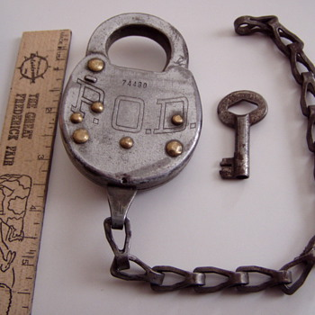 P.O.D. padlock for my model a ford mailtruck