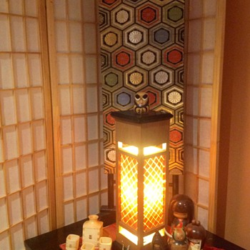 Handmade Japanese lamp