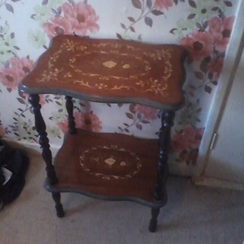 antique italian matching tables