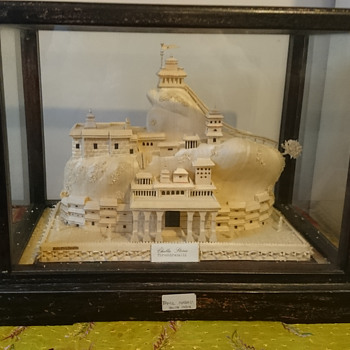 Hindu temple hand made