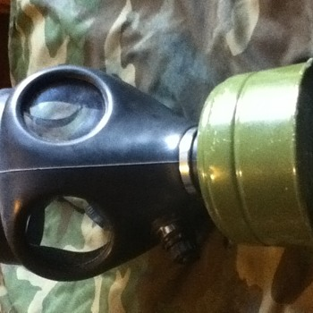 My Israeli Gas Mask The Real Deal  - Military and Wartime