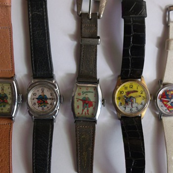 Superman watches 1939-1977 - Wristwatches
