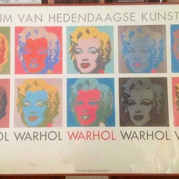 "Andy Warhol ""Ten Marilyns"" Offset Lithograph"