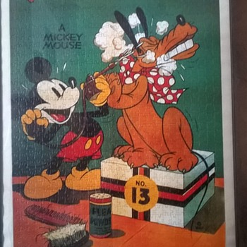 Framed Disney Jigsaw Puzzles Flea Market Finds