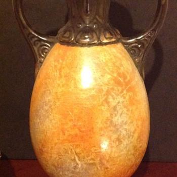 Czech Ditmar Urbach Alien Ware Urn - Art Pottery