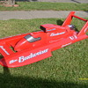 8 foot long miss budweiser u1 hydroplane (Very Rare) advertising item