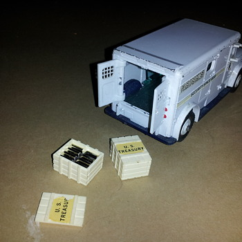 Dinky Toys 275 Brinks Truck