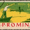 "1962 - Romania ""Fishing Scenes"" Postage Stamps"