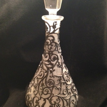 Mystery Decanter With Decorative Overlay